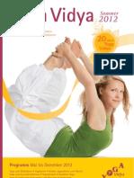Yoga Vidya Katalog Sommer 2012