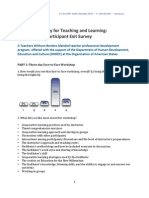 Building Capacity for Teaching and Learning. Program Evaluation - November 2011