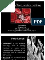 Application of Nano Robots in Medicine (1)