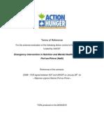 Acf Haiti Nutrition