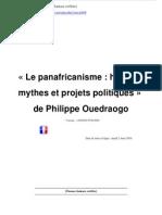 Panafricanisme.PhilippeOuedraogo
