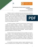 Redes Institucionales Para La FD y La Inclusion