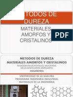 METODOS DE DUREZA