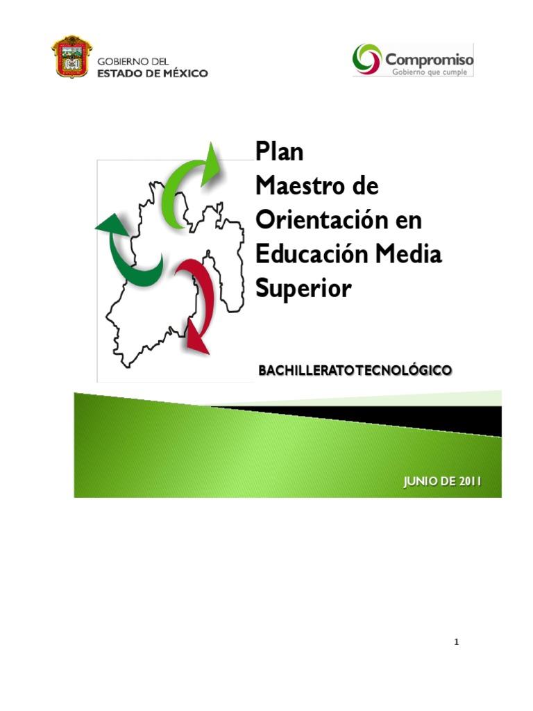 Plan Maestro Orientacion Junio Nueva Edicion BT