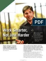 Tellabs Insight Magazine - Work Smarter, Not Just Harder