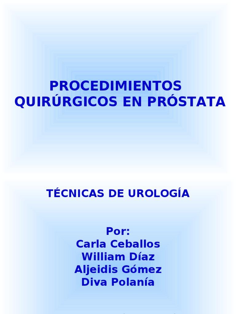 sonda vesical en la relación masculina con el utrículo prostático