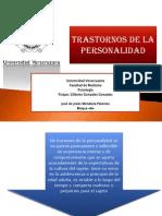 José de Jesús.Psicología.TRASTORNOS DE LA PERSONALIDAD
