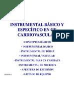 Instrumental cirugia general