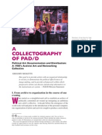 A Collectography of PAD/D by Gregory Sholette