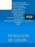 Reseccion de Colon