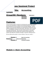 Accounting Features