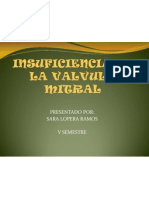 Insuficiencia de La Valvula Mitral