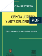 Ciencia jurídica y arte del Derecho. Estudio sobre el oficio del jurista