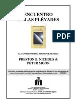 ENCUENTRO EN LAS PLÉYADES EL FENÓMENO OVNI VISTO POR DENTRO PRESTON B. NICHOLS & PETER MOON