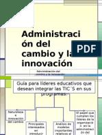 administración del cambio y la innovación