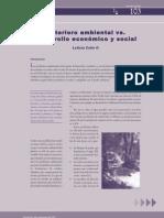 Deterioro Ambienta y Desarrollo Economico y Social