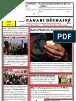 LE CANARI DECHAINE Par Etienne Chauvet- - Farenc Et Bryan Vignerie