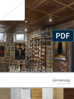 Armstrong Retail Ceiling Guide With Product Comparison to USG and Teed