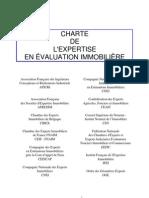 Charte de l`Expertise en Evaluation Immobiliaire