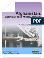 Afghanistan:Ending a Failed Military Strategy