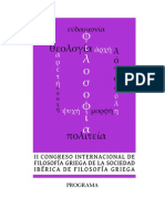 Programa II Congreso Internacional SIFG Palma de Mallorca - Espanha 2012