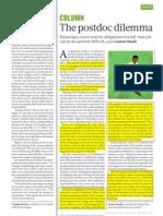 The Postdoc Dilemma