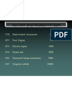 Rotary Instrumentation