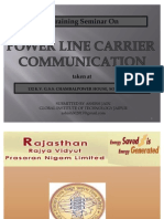 PPT on Power Line Carrier Communication