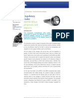 Deloitte - MIFID II Key Proposals and Impacts - 20 Oct. 2011