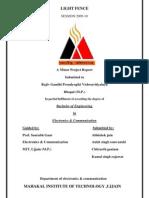 Minor Project File