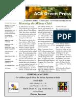 ACS Green Press April 2012