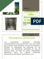 Transportación Horizontal Y Vertical En Edificios
