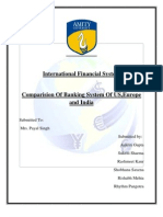 ion of Banking System of Us ,Europe,India