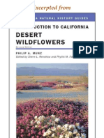 CNHG Introduction to California Desert Wildflowers