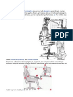 Ergo Ergonomic Workstation Criteria