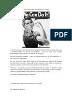 Discriminçao das Mulheres em Portugal