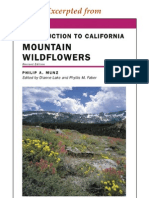 CNHG Introduction to California Mountain Wildflowers