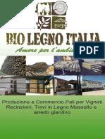Catalogo 2012 pali in legno