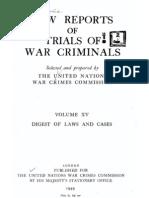 Law Reports Vol 15