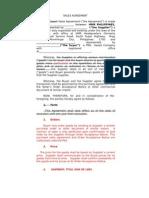 Export Sales Agreement-2