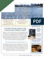 Ocean Alexander & Tiara Yachts 2nd Quarter Newsletter