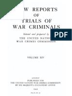 Law Reports Vol 14