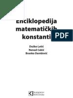 Enciklopedija Matematickih Konstanti Za Sajt