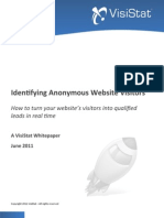 Identifying Anonymous Website Visitors