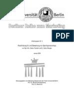 Arbeitspapier dung Fuer Und Bewertung Von Sport Sponsor Ships
