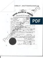 Pietro Santorum Naturalization Records filed 1930 at Somerset County PA Courthouse