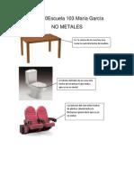 No Metales Portada