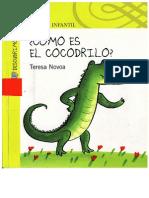 cómo es el cocodrilo