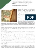 1st Century Mark Article