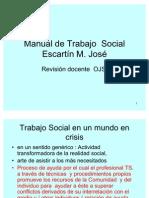 Manual de Tº. Social de Escartín M. José